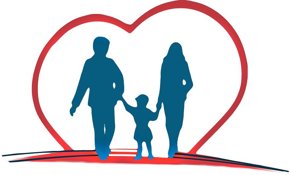 hjerte om familien